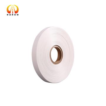 50 микрон непрозрачная белая полиэфирная лента