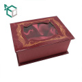 High Quality Wholesale Custom Logo Mat Laminated Paperboard Perfume Bottles Packaging Boxes With Window