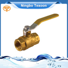 Forged NPT full port brass ball valve with new bonnet Stainless Steel Stem and Ball and Handle