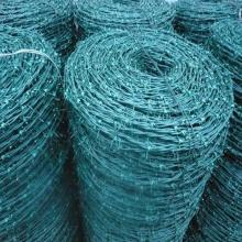 2016 haute qualité PVC enduit de fil de fer barbelé
