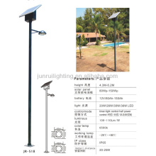 estilo moderno de 6m de altura led luz de calle de energía Solar