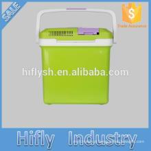 HF-26L DC 12 V / AC 220 V 55 W refrigerador do carro refrigerador de carro caixa de refrigeração mini refrigerador do carro portátil (certificado do CE)