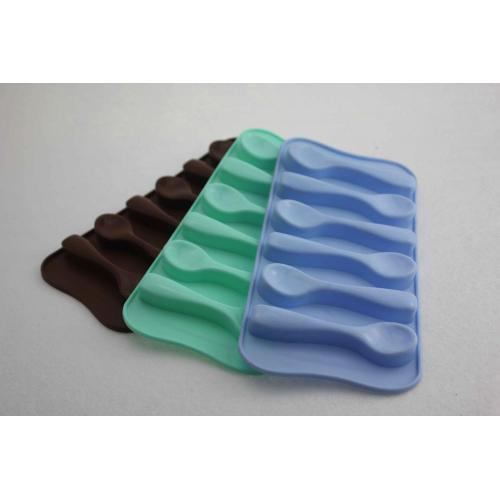 Candy Color Funny Silcione Chocolate Mold para helado de gelatina