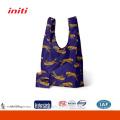2015 Vente en gros sac à provisions en polyester pliable pour les achats