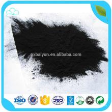Tratamiento de aceite de carbono activado con colorante en polvo de Shell de madera de nuez