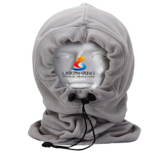 fashion winter skiing cycling snowboard hat for man woman warm head hat fleece face masks outdoor sports mask