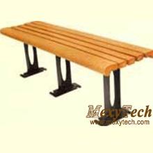 Древесные композитные уличные скамейки 1500X430X400mm (113 X)