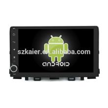 ¡Ocho nucleos! DVD del coche de Android 8.1 para RIO 2018 con la pantalla capacitiva de 9 pulgadas / GPS / Mirror Link / DVR / TPMS / OBD2 / WIFI / 4G