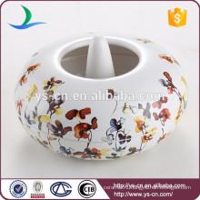 Wholesale Floral & Plants decal Ceramic Aroma Burner