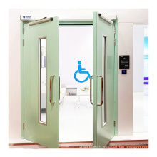 no touch hands free electronic automatic swing door opener for disabled room