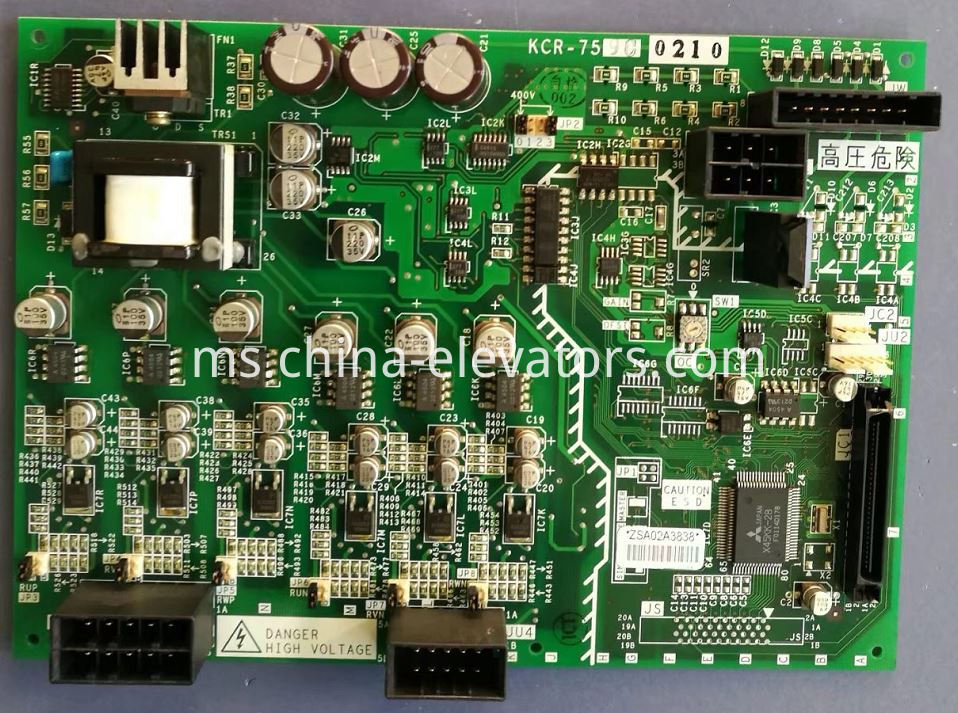 Driving Board KCR-759C for Mitsubishi GPS-3 Elevator Control Panel