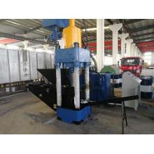 Siemens PLC Automatic Hydraulic Aluminum Briquetting Press
