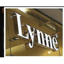 Fabrication de panneaux publicitaires acrylique lettres LED de haute qualité