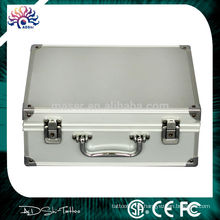 Kit de maquiagem de alumínio para ferramentas de tatuagem