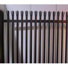 Valla de palisade revestida galvanizada / PVC