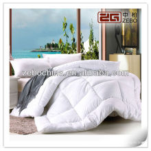 Hot selling luxury 100% cotton white cover wholesale hotel down duvet