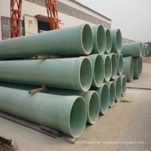 Beijing China wholesale industrial water supplying fiberglass frp composite Irrigation green grp Pipe