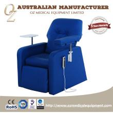 Medizinischer Möbel-luxuriöser elektrischer Dialyse-Krankenhaus-Stuhl-Blutspenden-Stuhl