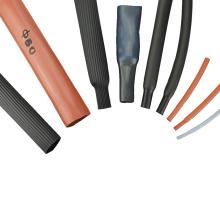 Douille en caoutchouc de rétrécissement de la chaleur de fil de silicone résistant à hautes températures de cachetage