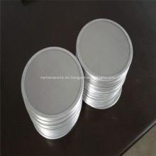 Pantallas de filtro de aceite / pantallas de malla de alambre