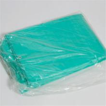 Feuille de plastique de bâche de PE de tissu de poly vert argenté