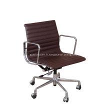Chaise de bureau Eames en cuir moderne