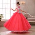 2017 New Custom Made Vestidos Bridal Puffy Colored ball gown Wedding Dresses MW2271