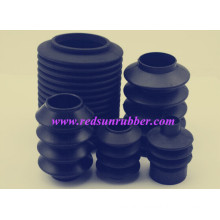 Molded Rubber Bellow in Machine