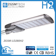 Modul Balkenholz High Lumen Leistung 280W LED-Straßenlaterne