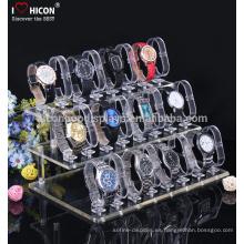Para aumentar su valor de marca y para cumplir con su presupuesto y superar sus expectativas Acrylic Smart Wrist Watch Display Stand