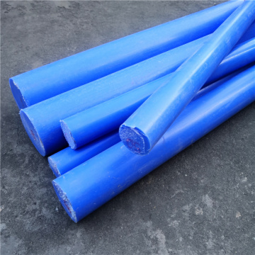 Rekayasa Plastik Blue Nylon Bar Polyamide Rod