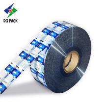 Lable stick with printing plastic packaging film