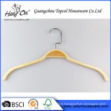 Laminated clothed wooden hanger Printed logo