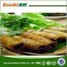 hot sale high quality delicious cooking frozen spring rolls