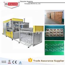 Fabrication jetable de boursouflure Emballage sous vide de fruit Plateau formant la machine