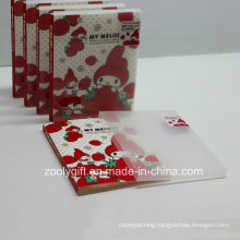 """Printed Plastic PP / PVC 4X6"""" Photo Albums with Clear Box"""