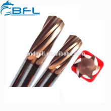 BFL-Hard Alloy Carbide Hand Reamer / 6 Flauta escariador de alta calidad