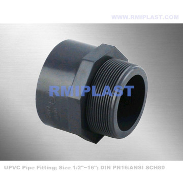 Adapter męski PVC NPT