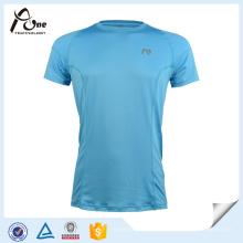 Mens 100% microfibre polyester Dri Fit Shirt usure de course