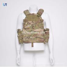 Colete tático da segurança da camuflagem da camuflagem da veste da prova da veste da venda por atacado com bolsos