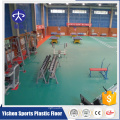 Training Room SBR With Interlock Rubber Tile Rubber Floor