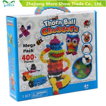 400+ Megapack DIY Puzzle Festival de Natal Educacional Brinquedos de aniversário para crianças Brinquedos de bola de espinho