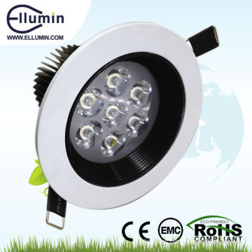 venta popular 7W LED Foco de techo