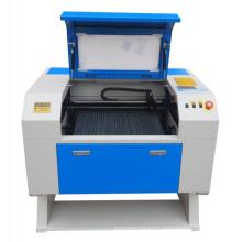 Machine de gravure à laser miniature à tube de verre à base d'usine d'usine (GS5030) avec vitesse de coupe élevée