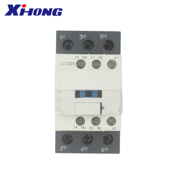 50/60hz LC1D25 AC  Contactor magnetic 25A electrical contactor