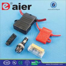 Daier 10A 250VAC painel de montagem do porta-fusível