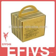 Caja de embalaje de joyería de madera