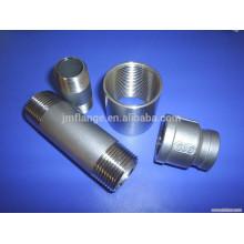 Soquete Soldado / Conexão de tubo de aço carbono acoplamento roscado