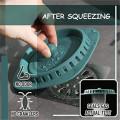 Filtro desodorizante anti-entupimento de silicone personalizado