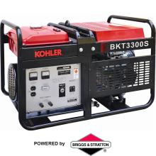 Generador de gasolina trifásico del uso casero de reserva (BKT3300)